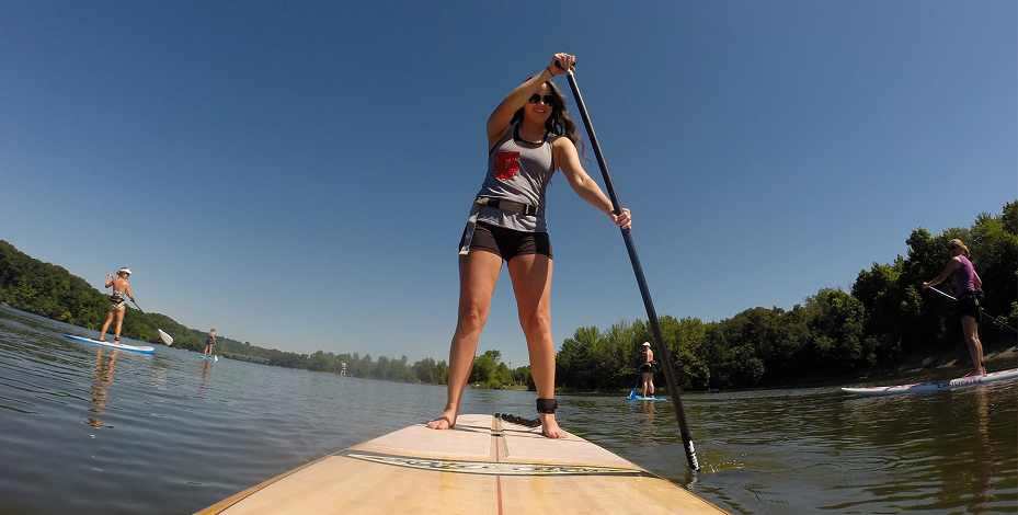 aloha sup columbus paddle boarding alum creek