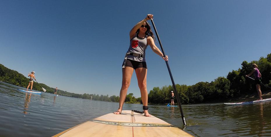 aloha sup columbus paddle boarding alum creek