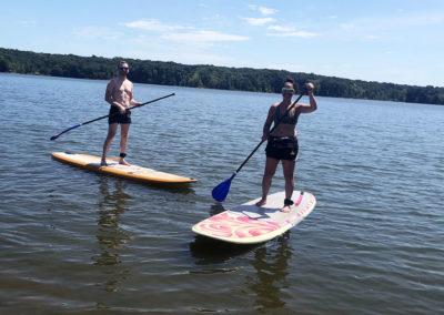 aloha sup columbus hoover reservoir paddleboarding